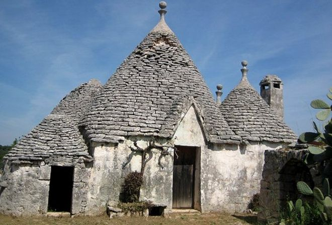 Trulli house. Italy s fantastical farmers  sheds turned holiday homes   BBC News