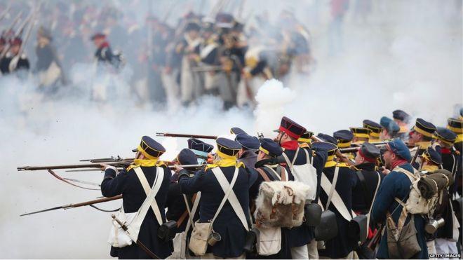 In pictures: Battle of Leipzig, Napoleonic re-enactment