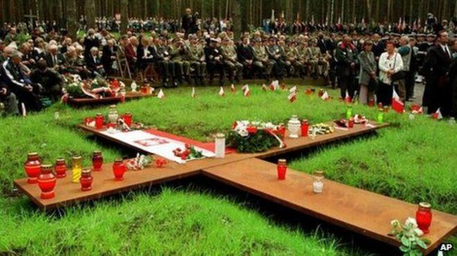 Αποτέλεσμα εικόνας για katyn forest massacre