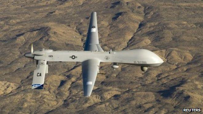 Pakistan says drones killed 67...