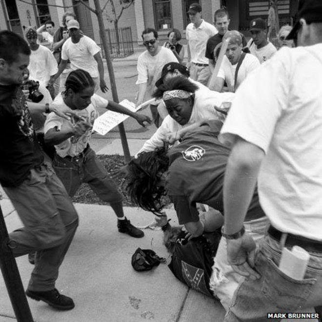 Image copyright mark brunner keshia thomas protecting the man