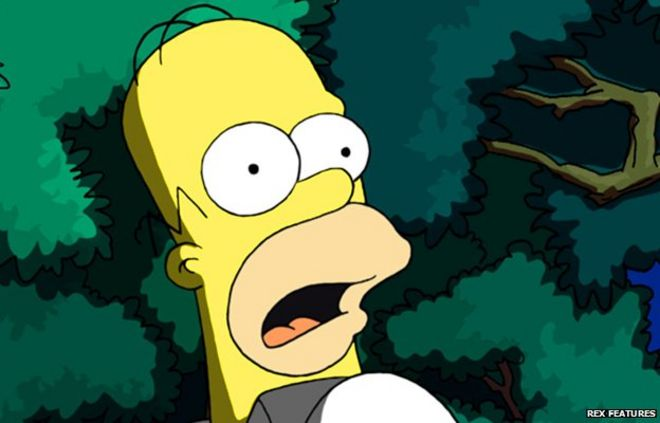 Homer Simpsons Scary Maths Problems Bbc News