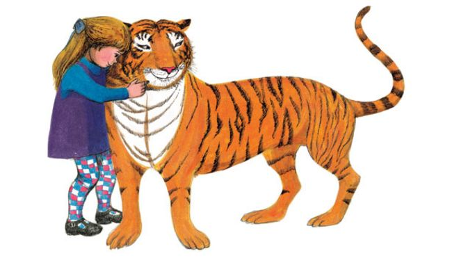 Image result for the tiger who came to tea