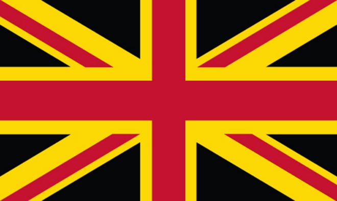 What Would The Union Jack Look Like If The Scottish Bit Were Removed