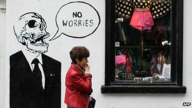 Спасительные граффити в Temple Bar