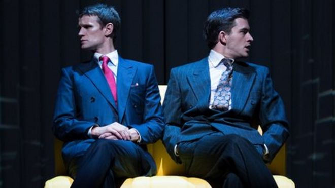 Critics in two minds over matt smiths american psycho musical bbc american pyscho reheart Gallery