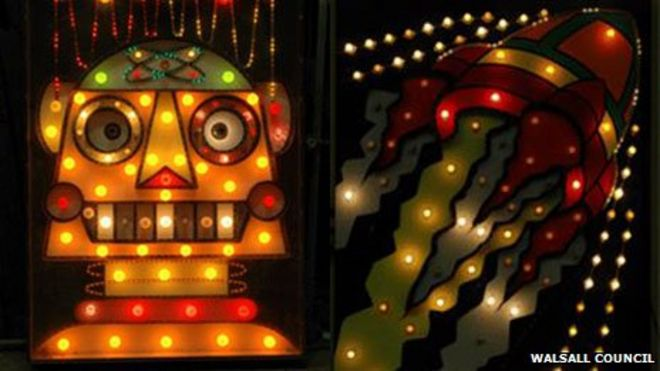Walsall illuminations light boards & Walsall illuminations lights to be sold off by council - BBC News azcodes.com