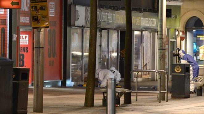 cf5324dbb3 Belfast fire bomb  Tactic a relic of Troubles - BBC News