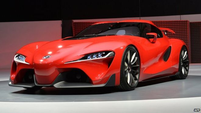 Toyota Ft 1 Concept Sports Car Unveiled In Detroit Bbc News