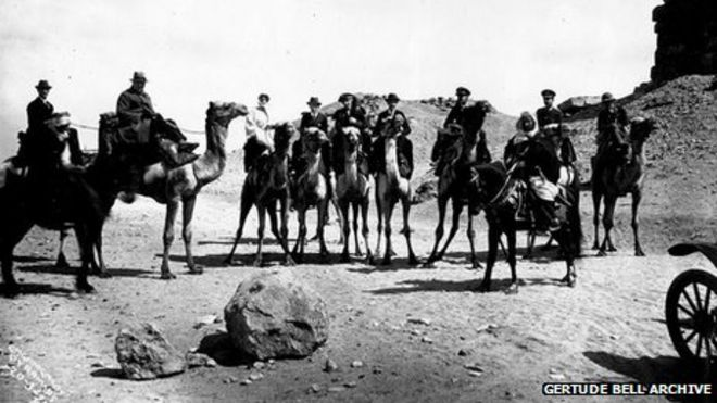 Image result for photos of gertrude bell