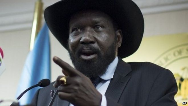 South Sudan President Salva Kiir Hits Out At Un Bbc News