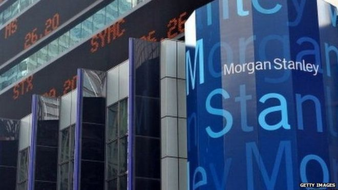 Morgan Stanley to pay out $1 25bn to settle lawsuit - BBC News