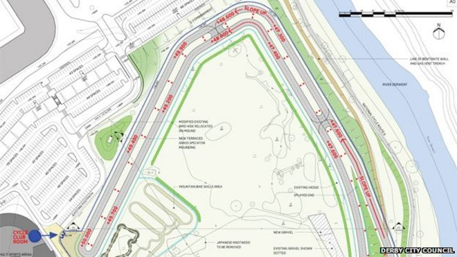 Court order stops Derby cycle track work at The Sanctuary nature ...