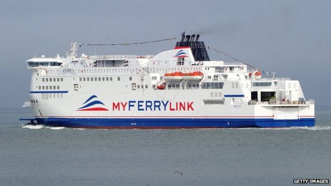 Eurotunnel Dover Calais Myferrylink Operation Must Cease Bbc News