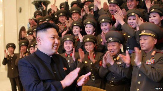 Outstanding North Korea Students Required To Get Kim Jong Un Haircut Bbc News Short Hairstyles Gunalazisus