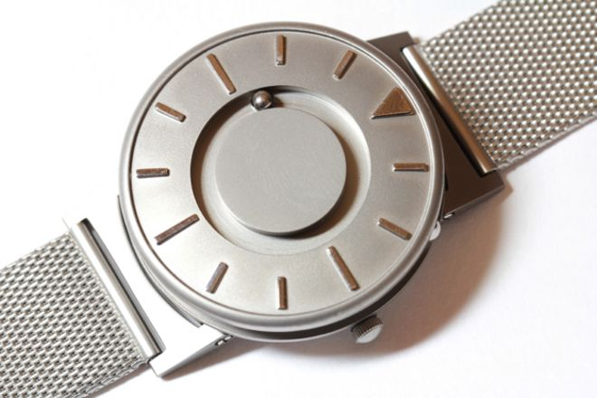 a watch for blind people bbc news bradley timepiece