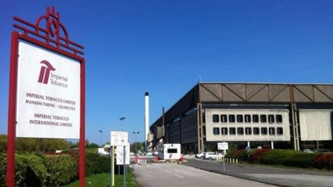 Imperial Tobacco to close factories by 2016 - BBC News 1da1924d364
