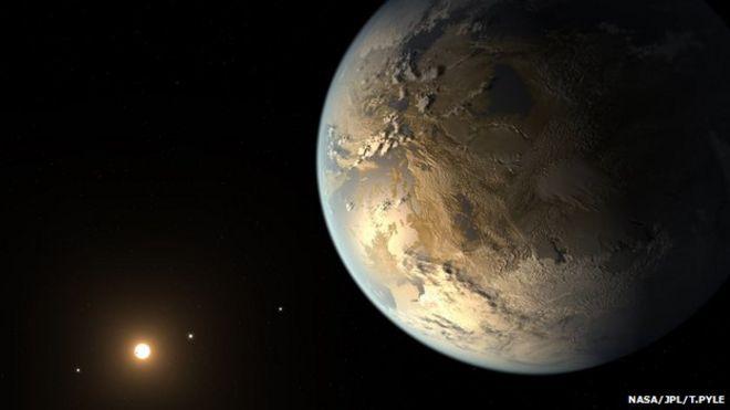 Impresión artística de Kepler 186f