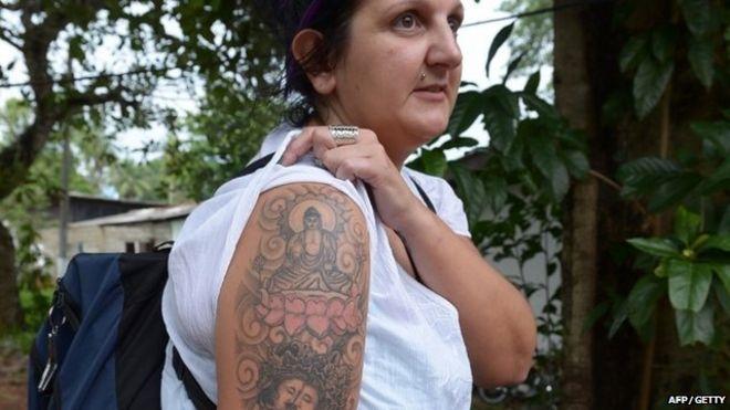 Sri Lanka To Deport Buddha Tattoo British Woman Bbc News