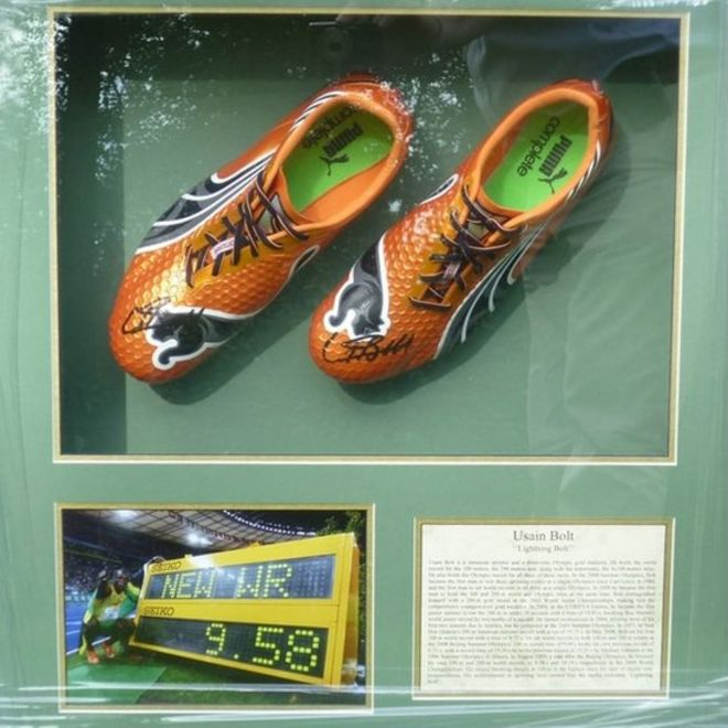 4c11b646b7c Usain Bolt tweets over running shoes stolen in Croydon - BBC News