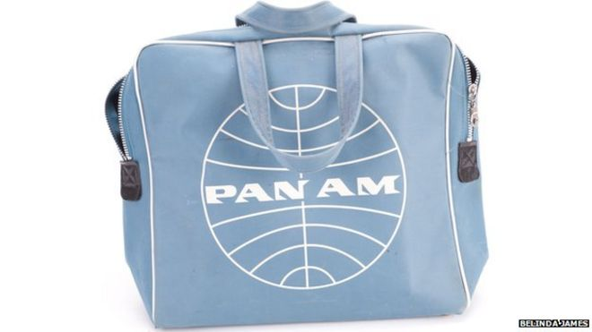 815df60045 John Lennon Pan Am flight bag auctioned - BBC News