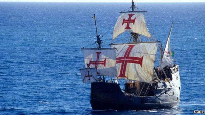 christopher columbus s santa maria wreck found bbc news