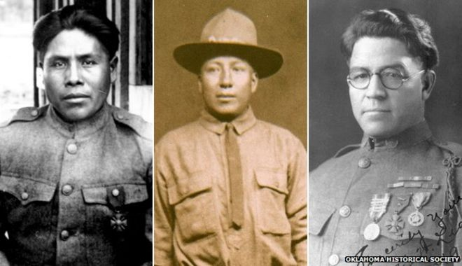 World War One The Original Code Talkers Bbc News