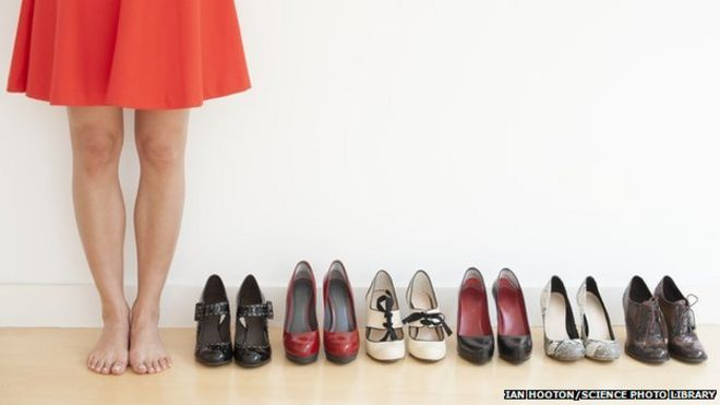 British feet are  getting bigger and wider  - BBC News f64b38db4