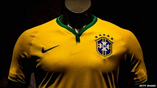 5413e2fd0 The story of Brazil s  sacred  yellow and green jersey - BBC News