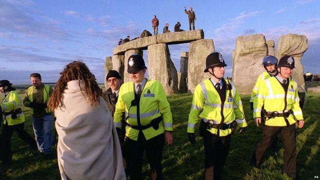 police stonehenge