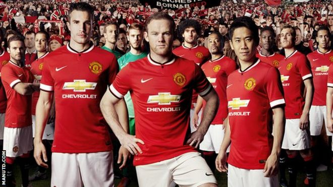 newest c11a5 ebec7 Nike ends Manchester United kit deal after 13 years - BBC News