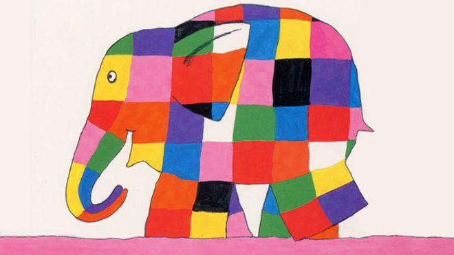 The Evolution Of Elmer The Patchwork Elephant Bbc News