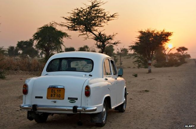 Ambassador Car In Rajasthan