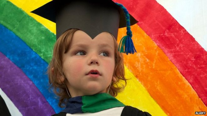 fe6a1ca7240 Do four-year-olds need a graduation ceremony  - BBC News