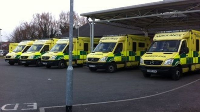 Welsh ambulance response time target missed in June - BBC News