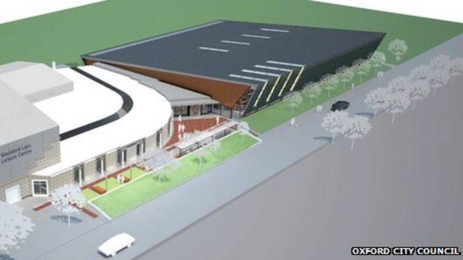 Blackbird Leys swimming pool construction begins - BBC News
