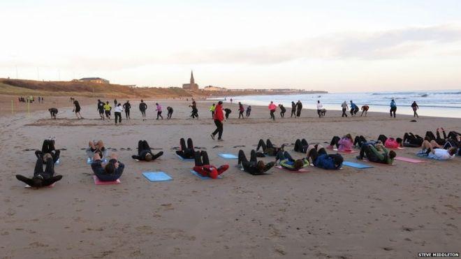 83bb045b789c Tynemouth s Longsands  Beach life then and now - BBC News
