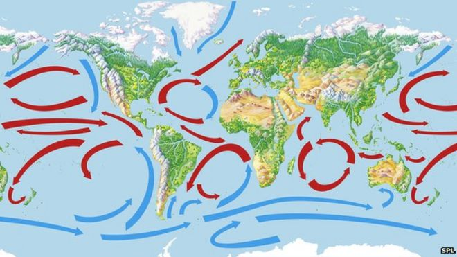 Global warming slowdown could last another decade bbc news global ocean currents gumiabroncs Gallery