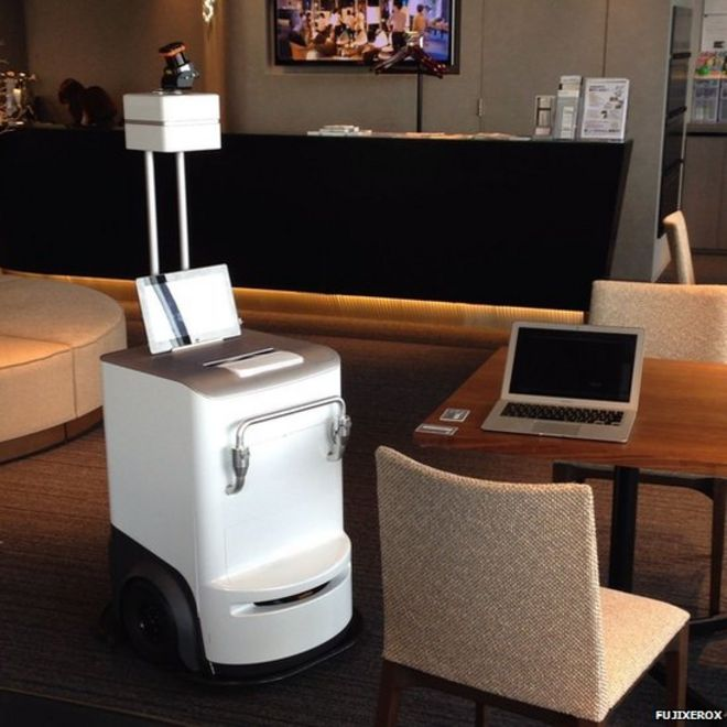 Fuji Xerox printer 'comes to your desk' with documents - BBC