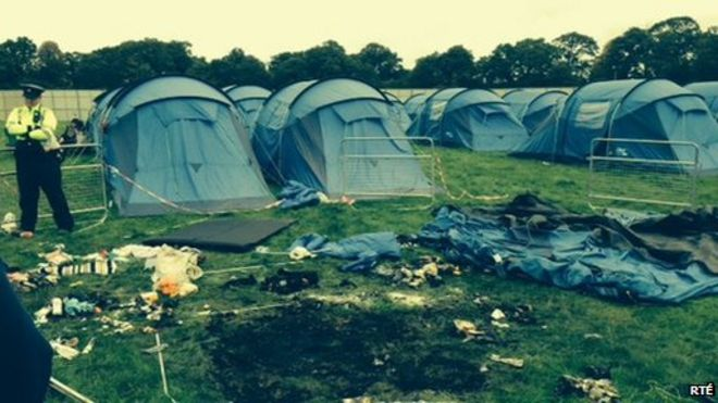 Woman Injured In Fire In Tent At Electric Picnic Bbc News