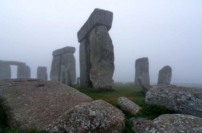Stonehenge Uk Map.Stonehenge Secrets Revealed By Underground Map Bbc News