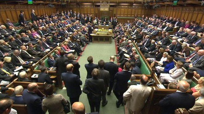 Палата общин упаковала для вопросов премьер-министра на прошлой неделе
