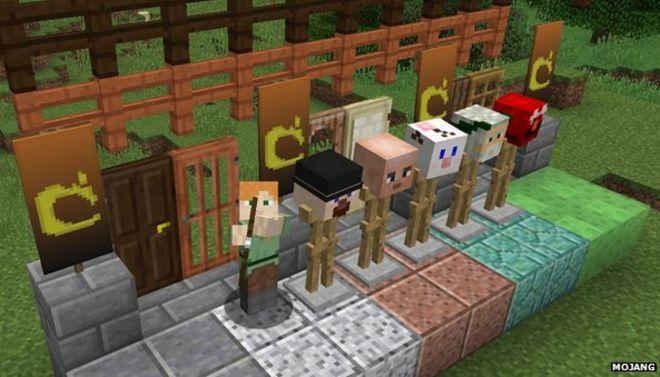 Microsoft set to buy minecrafts developer mojang say reports bbc minecraft publicscrutiny Images