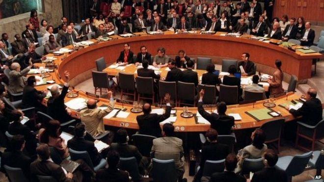 Сессия Совета Безопасности ООН в 1999 году