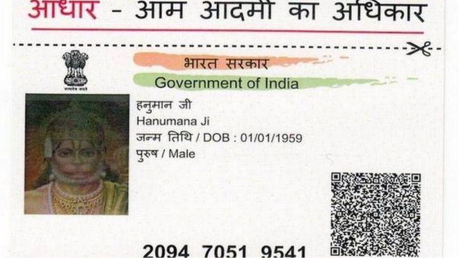 India Bbc Card - Probes For Identity Monkey News God Hanuman