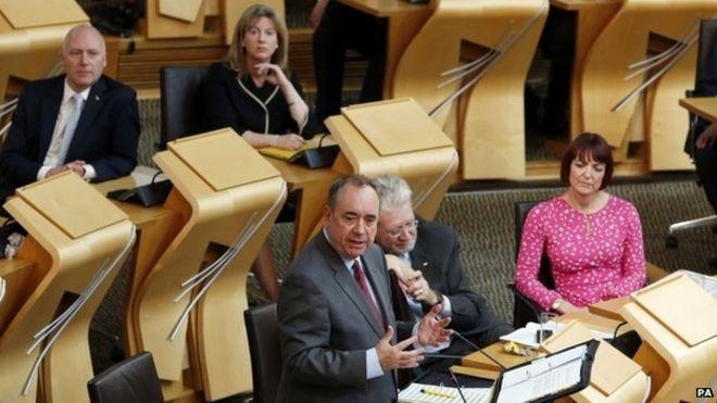 Вопросы первого министра в парламенте Шотландии