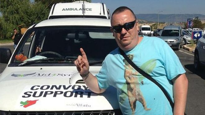 Alan Henning: An ordinary man who wanted to help Syrians - BBC News