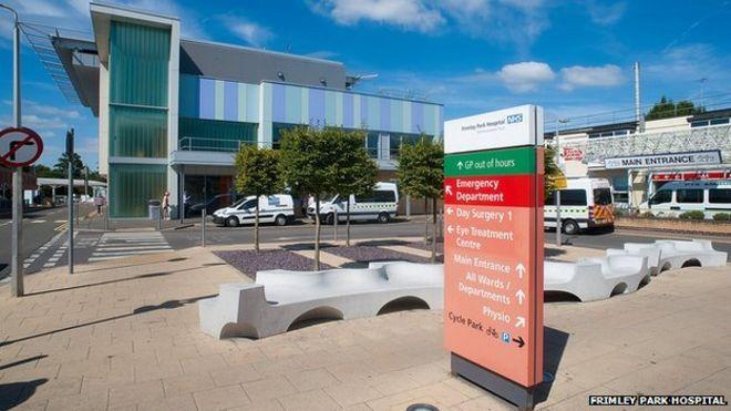 Znalezione obrazy dla zapytania Frimley Park Hospital