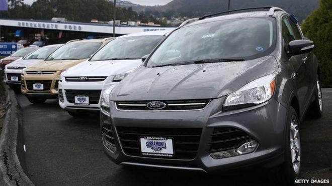 Ford Escapes & Ford recalls 850000 cars with airbag fault - BBC News markmcfarlin.com