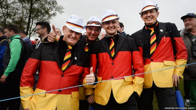 Gleneagles Ryder Cup Fans Outfits